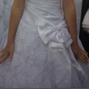 Подвенечное платье от московского производителя